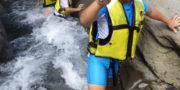 南アルプスの清流で川遊びプラン